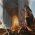 "The Cathedral - oil on canvas - 50"" x 31"" by Dave Martsolf"