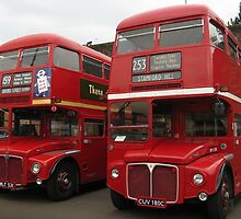 LONDON BUSES by gothgirl