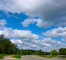October Clouds By Jonathan Green by Jonathan  Green