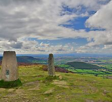 Yorkshire: Carlton Bank Trig Point by Rob Parsons
