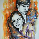 Kristin Kreuk, Tom Welling, featured in No Nudes group and painters univers group  by FDugourdCaput