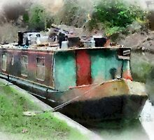 Narrow Boat, Kennet & Avon Canal, Wiltshire, UK by buttonpresser