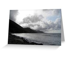 Rossbeigh Blue Flag Beach Greeting Card