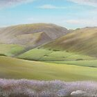 'Green Valley'  by Dawn Jones Art