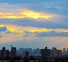 Bronx Sunset by Alberto  DeJesus