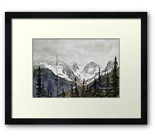 Rainy Pass Framed Print