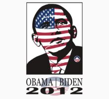2012 OBAMA ELECTION TEE by S DOT SLAUGHTER