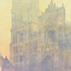 Rouen Cathedral, after Monet by wrylycoyote