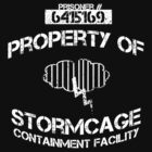Stormcage Containment Facility White Writing by KruithofDesigns