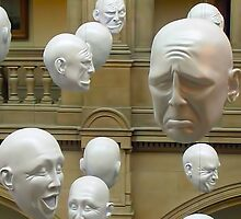 Hanging Heads by David Alexander Elder