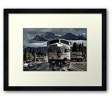 Better Move Framed Print