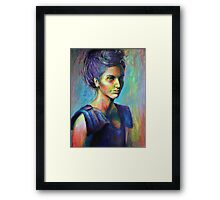 Model No.3 - Multi Coloured Life Framed Print