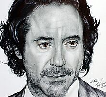 Robert Downey Jr by Clarae5