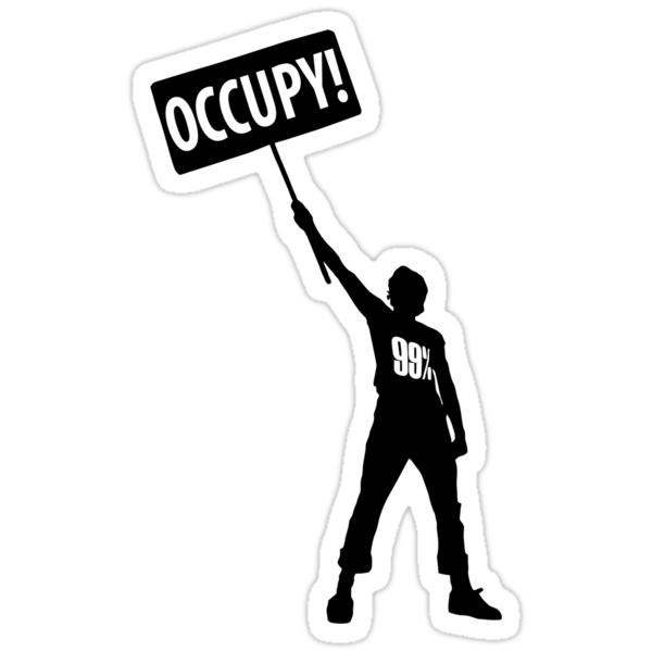 OCCUPY!  - Support the Occupy Wall Street Movement by Brother Adam