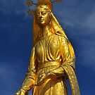 Golden Virgin Mary by neil harrison