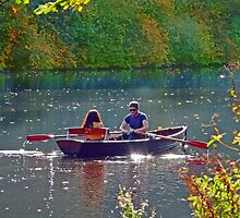 Romance on the River by Morag Bates