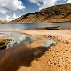 Lough Nafooey Co. Mayo/Galway Ireland. by MickBourke