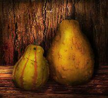 Autumn - Gourd - A pair of squash  by Mike  Savad