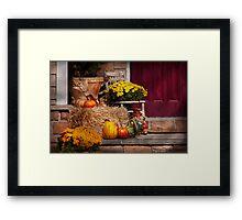 Autumn - Gourd - Autumn Preparations Framed Print
