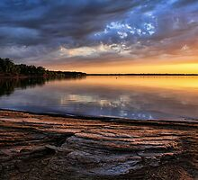 Local Color At Lake Eufaula by Carolyn  Fletcher