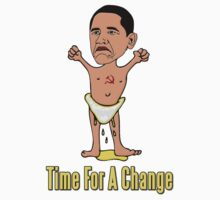 Baby Obama Time For A Change by gleekgirl