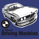 BMW E9 CSL - The Ultimate Driving Machine by Lee Fone