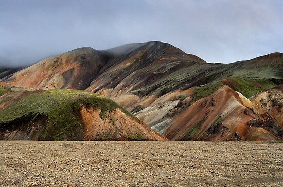 Landmannalaugar, Iceland by Tim Edmonds