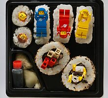 Lego Sushi by Ken Gillies