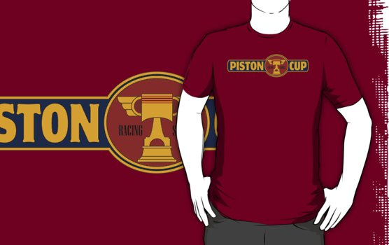 Piston Cup Large Classic Logo by Christopher Bunye