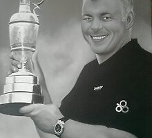 Darren Clarke by Mark Lee McMeekin