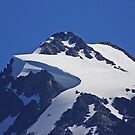 on top of mt shuksan, washington, usa by dedmanshootn