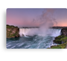 Power of Horseshoe - Niagara Falls  Canvas Print