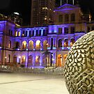 Treasury building in Brisbane by Larissa Dening