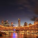 The Story Bridge, Brisbane by Larissa Dening