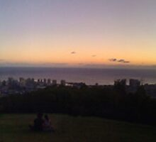 Panoramic Waikiki  by HIking