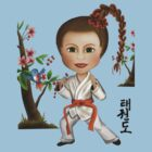 Taekwondo Girl by Kristy Spring-Brown