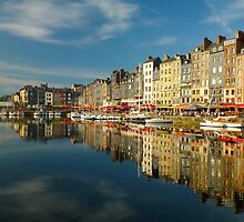 Honfleur: le Grand Bassin by supergold