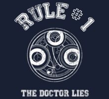 Doctor Who Rule N°1 by ixrid