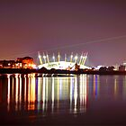 Millennium Dome at Night by FB Photography