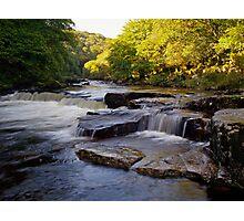River Dart Cascades Photographic Print