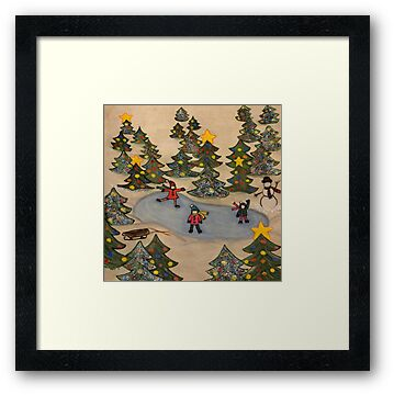 Heaven on Christmas Tree Pond #2 by Marsha Free