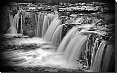 Aysgarth Falls, North Yorkshire by Sandra Cockayne