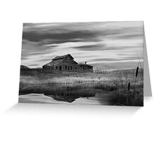 Black Sage from dawn to dusk 7/7 BW Greeting Card
