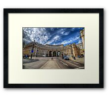 Admiralty Arch Framed Print