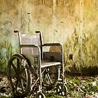Mouldering state school wheelchair by ward9