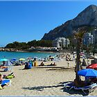 Calpe on the Rocks by Janone