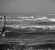 High Seas Wind Surfer by Barry Goble