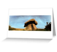 Quoit Surreal Greeting Card