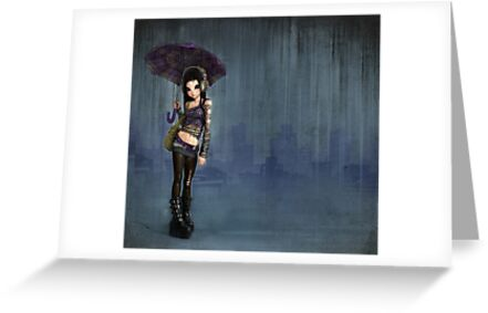 raining ink by alicia1982