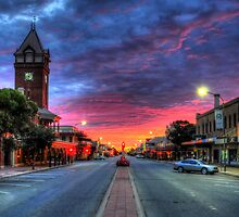 Main Street Sunrise by Rod Wilkinson